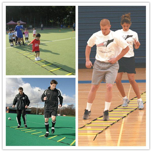 21-Rung 8M Speed Agility Ladder For Football Speed Agility Training
