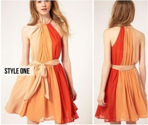 Elegant Summer Dress. Stylish dress favorable for summer. Available in two styles from #ikOala for just $29.00.