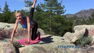 Ćwiczenia na pośladki i uda - zestaw pełny, via YouTube.