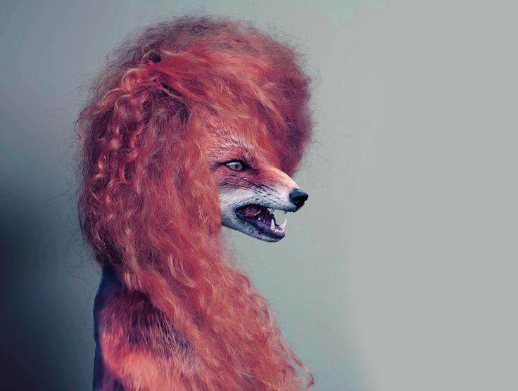 Kristyna Hrdlickova ilustrace, kiki artworks Fox model