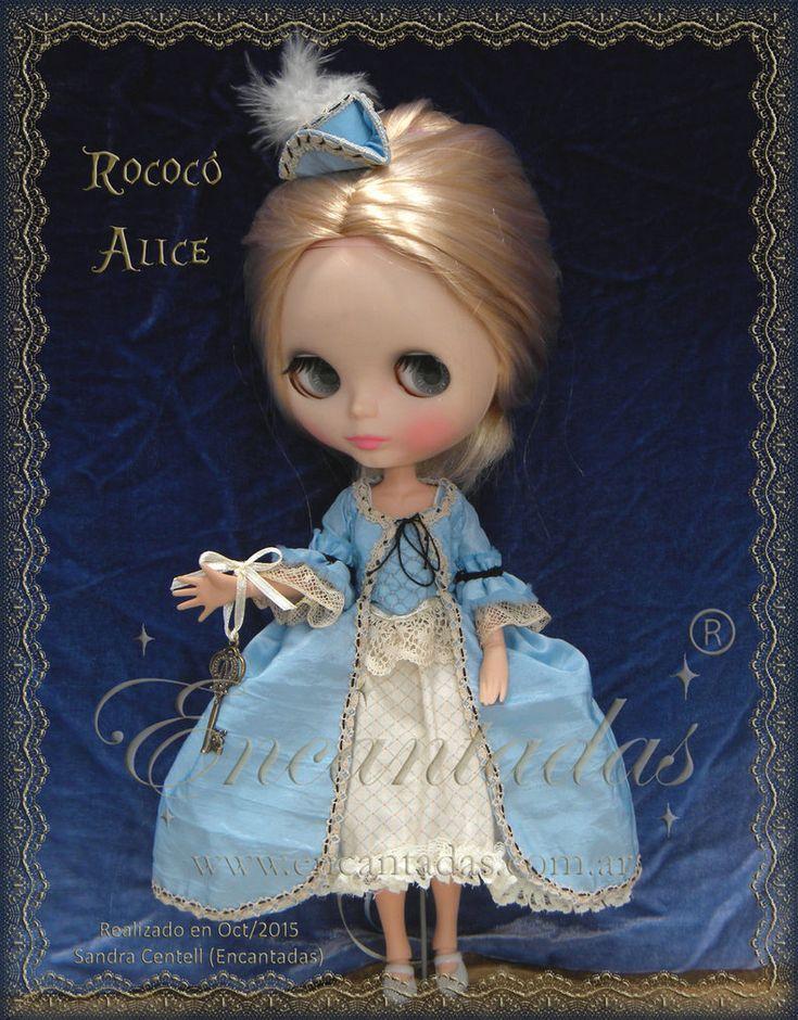 Blythe Rococo Alice - Maria Antonieta 1 by Encantadas.deviantart.com on @DeviantArt