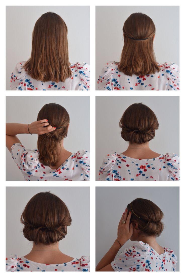 How to use the headband.  Headband found in La Box de Louise of settember