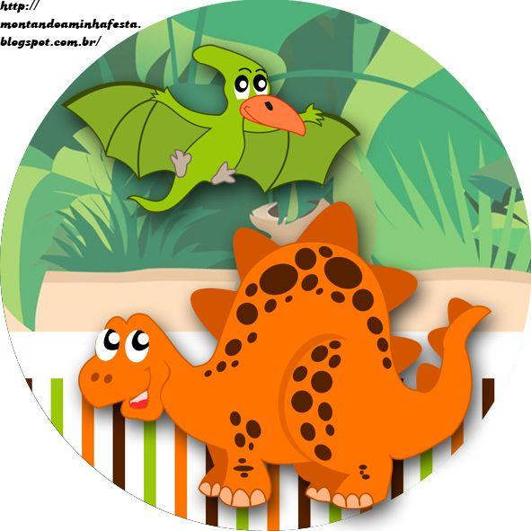 Montando minha festa: Dinossauros