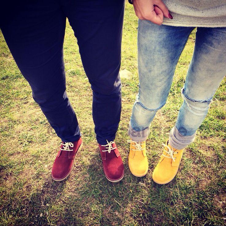 Happy colors, happy feet, lovely autumn