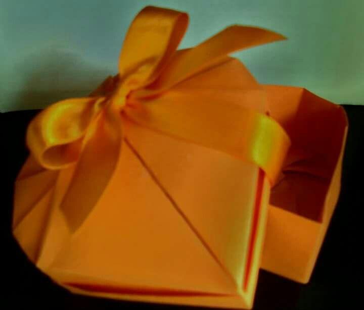 Origami caixa coração by Juliana Lima