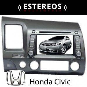 Estereo Multimedia Con Navegador Satelital Honda Civic