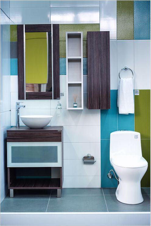 Griferia Para Baño Grival:Color y más color #baños #Corona inspira