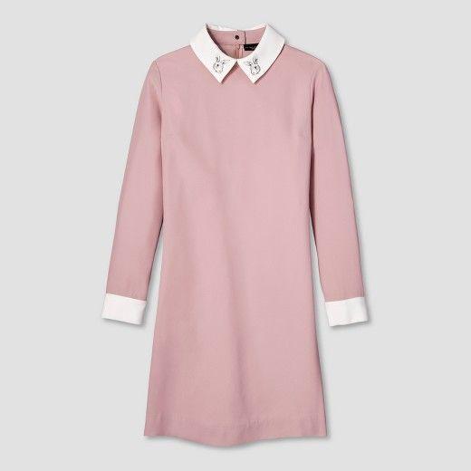 Women's Black Collared Dress - Victoria Beckham for Target $35