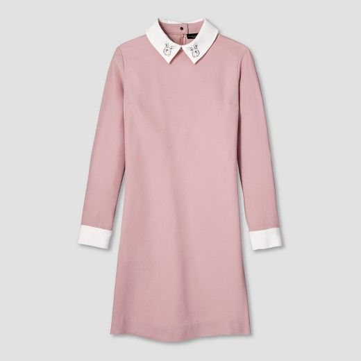 Women's Blush Collared Dress - Victoria Beckham for Target : Target