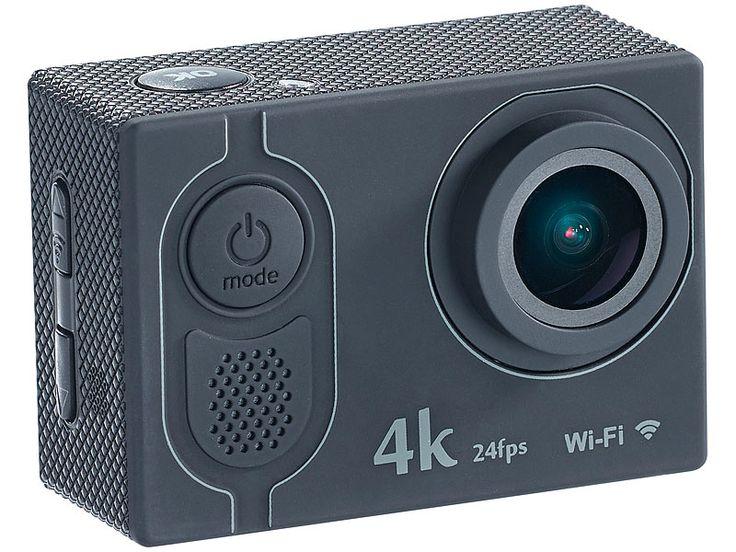 4k action cam mit uhd video bei 24 fps 16 mp sony sensor. Black Bedroom Furniture Sets. Home Design Ideas