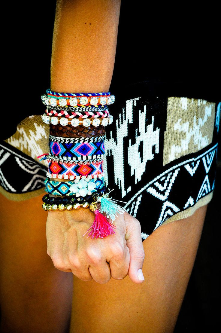 you can never wear too much IVY JANE or too many bracelets. www.ivyjane.com