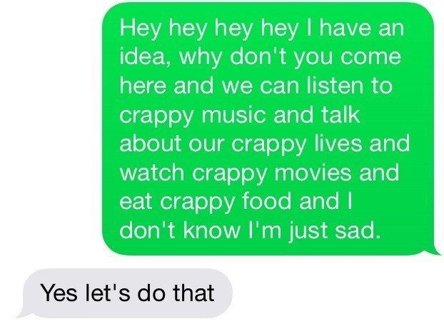 Always. | 27 Texts You'd Only Get From Your Best Friend. So, @isobelwynne9, you on board