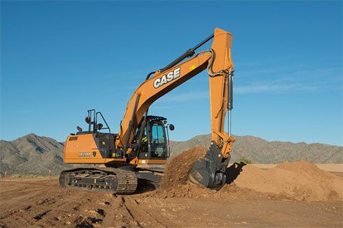 CASE CX210D Excavator | Equipment | CASE Construction