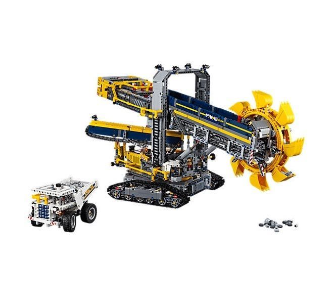 Lego Technic Bucket Wheel Excavator Authentic Building Block Toys  #LEGO