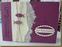 Westenholzer Kreativkeller: Der erste Kommunion-Workshop….