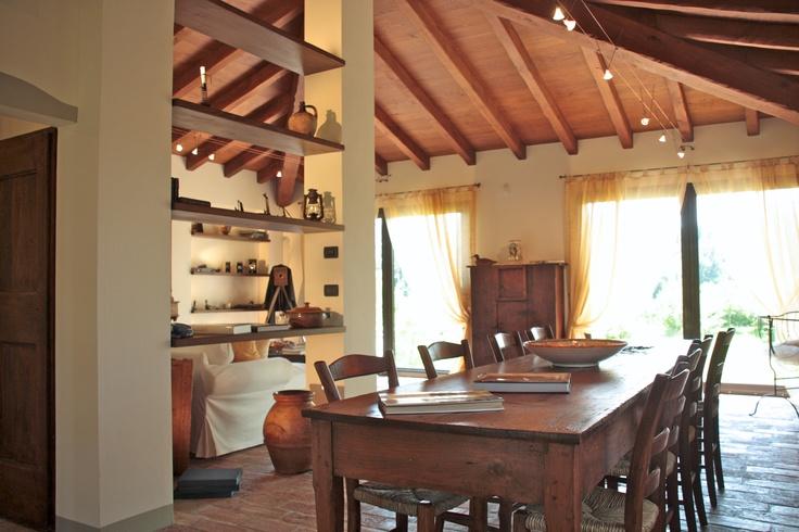 Interiors at La Gaiana bed and breakfast