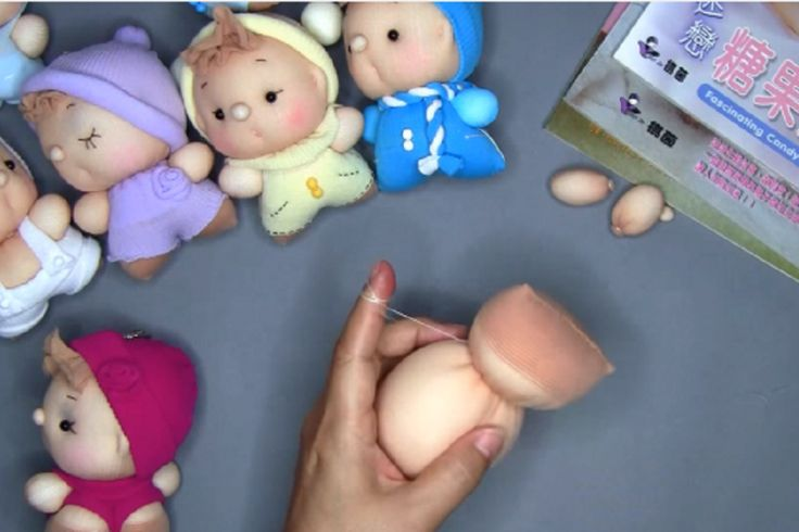 Une technique intéressante pour fabriquer de magnifiques et adorables poupées!!