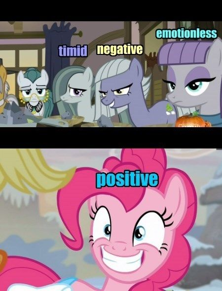 The Emotions Were Split Between Them at Birth, MLP