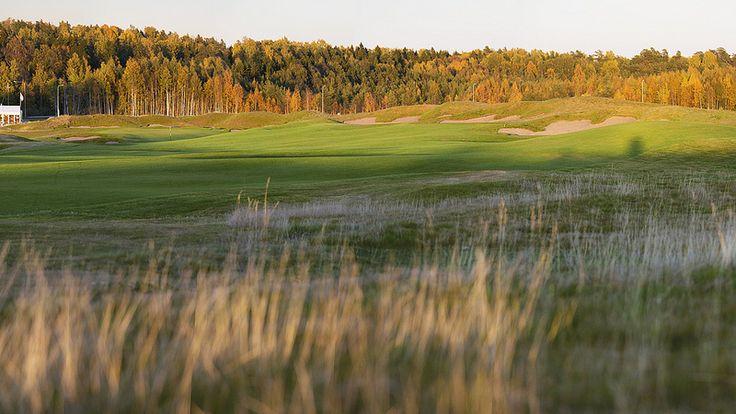 18 väylä Tapiola golf Finland