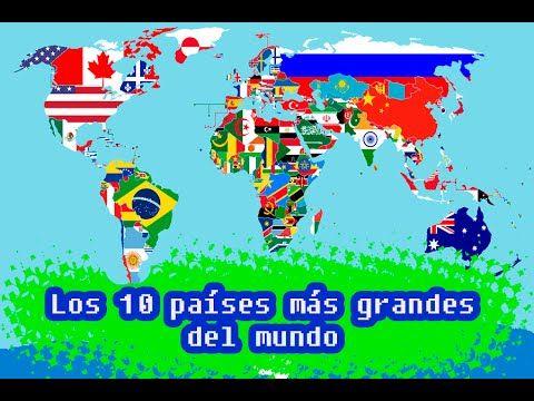 los 10 países más grandes del mundo (2015).  #ElCondorMilenario,  #PaísesMásGrandesDelMundo, #Extensión, #Territorial, #ElMundo, Los países más grandes del #PlanetaTierra, #LosPaíses, #América, #Africa, #Oceanía, #Asia, #Europa, #Los5CincoContinentes, #Rusia, #Canadá, #AméricaDelNorte, #EstadosUnidos, #China, #Brasil, #AméricaDelSur, #Australia, #India, #Argentina, #Kazajstán, #Argelia,