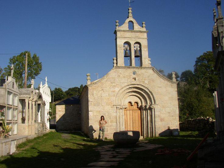 Iglesia de Santa María de Ferreiros, Lugo, Camino de Santiago