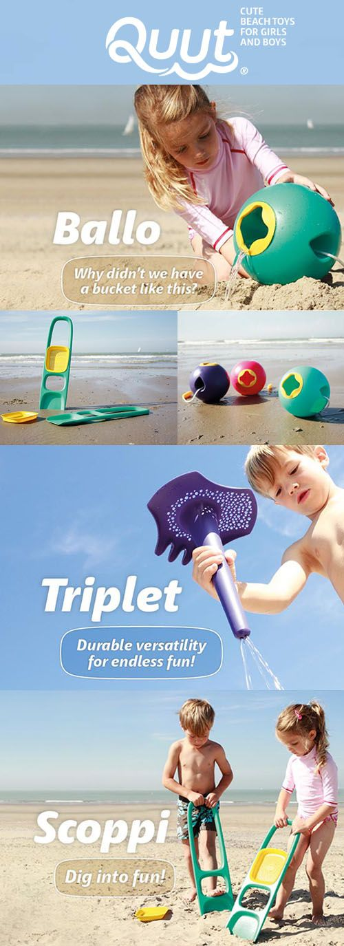 QUUT : Quality Beach Toys For Making Memories