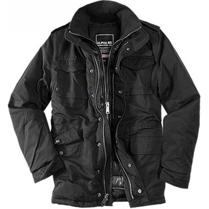 john-andy.com | Alpha Industries Forrester jacket