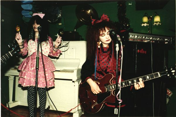 Strawberry Switchblade - first show.