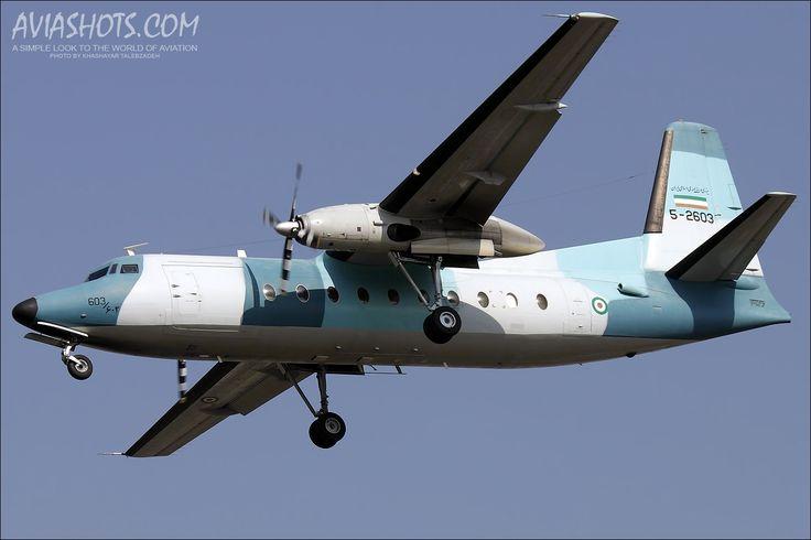 Fokker F-27-400M Troopship / Iran - Navy