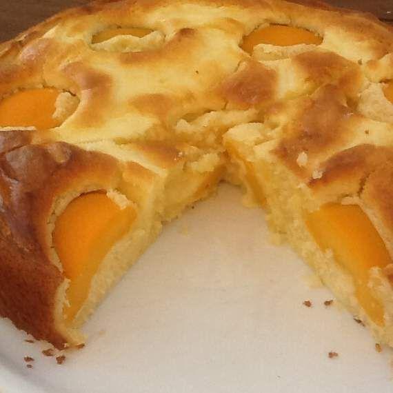 Rezept Pfirsich-Schmand-Kuchen Ruck-Zuck Finessen 4/13 von Allium - Rezept der Kategorie Backen süß