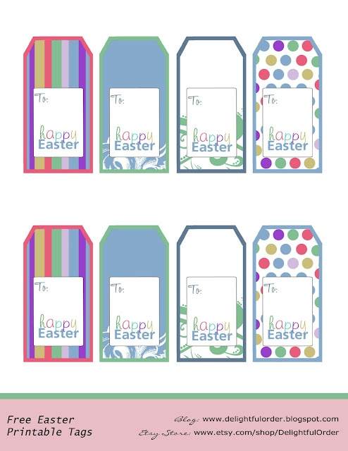 53 best church ideas images on pinterest easter gift free free printable easter basket gift tags negle Image collections