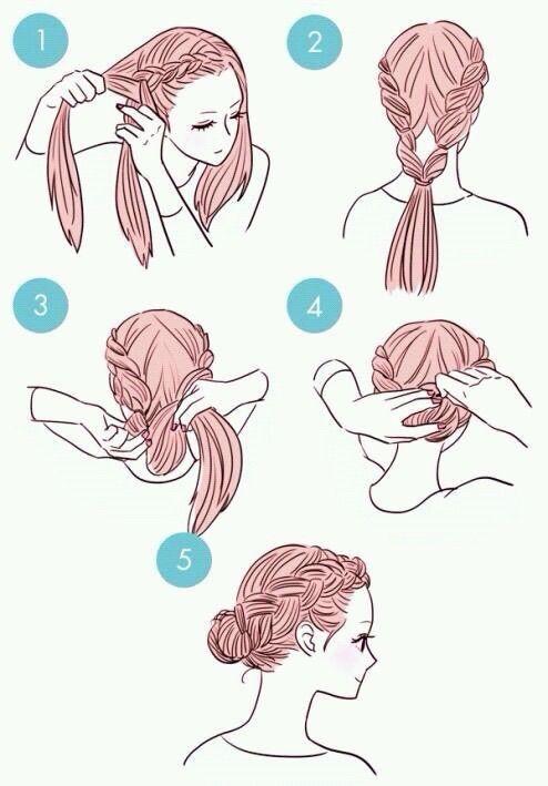 Image via We Heart It #creative #creativity #diy #girls #hair #hairstyle #ideas #stepbystep