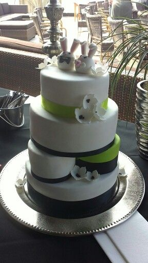 Bruidstaart zussie :)