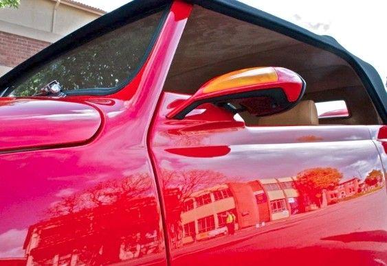 Fusca tuning hot - espelho retrovisor lateral