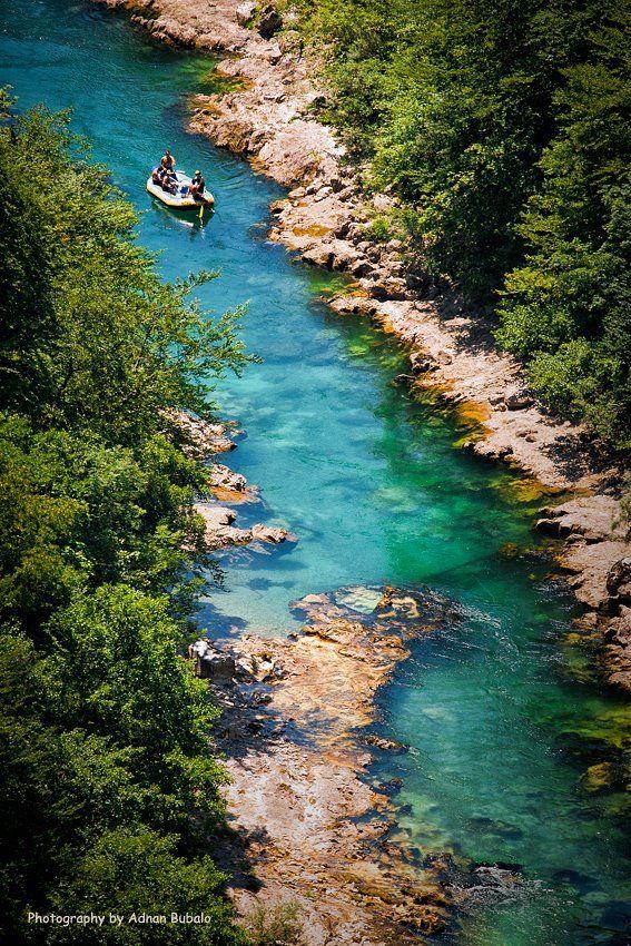 Neretva, Bosnia and Herzegovina. Neretva is the largest river of the eastern part of the Adriatic basin. (V)