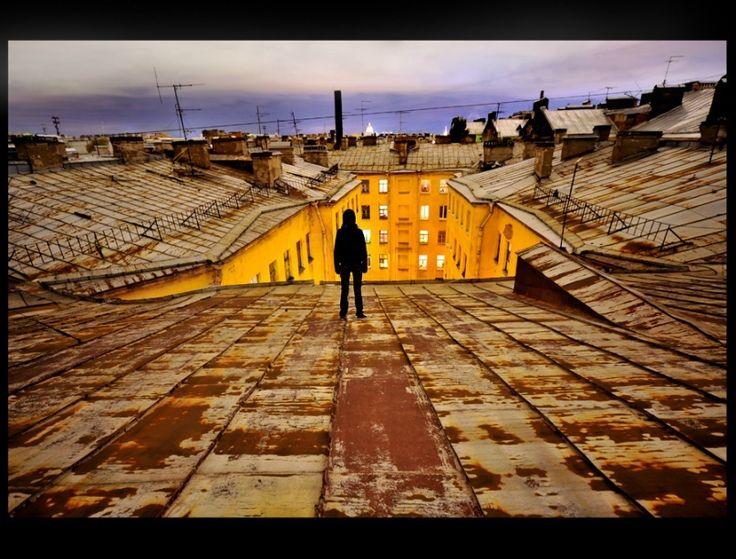 Музыка и крыши Санкт-Петербурга