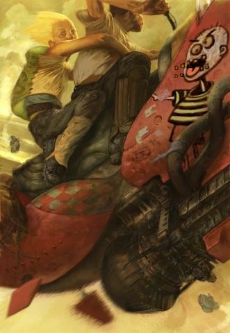 Jon Foster Studios - illustration