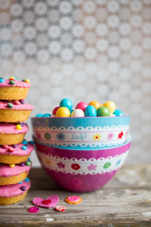 Kleurige schaaltjes - Tableware lief! lifestyle #colorful