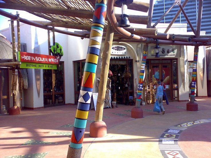 Ushaka - lots of lovely little shops ...