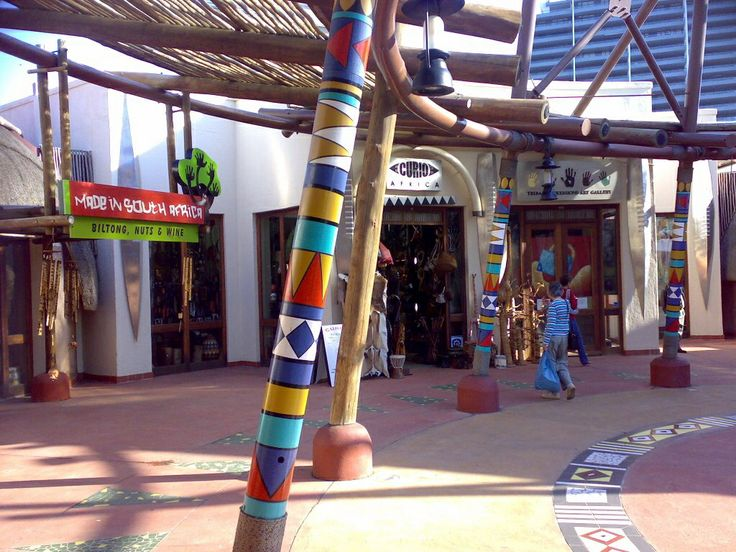 Ushaka - in the shopping area - John A Forbes