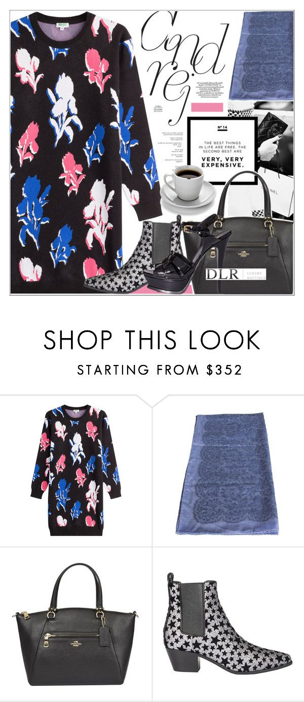 """""""DLRBOUTIQUE.COM"""" by mirachu-1 on Polyvore featuring Chanel, Kenzo, Valentino, Coach and Yves Saint Laurent"""