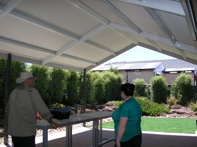 Pergolas Plus Outdoor Living : Colorbond roofs No Gable Infill
