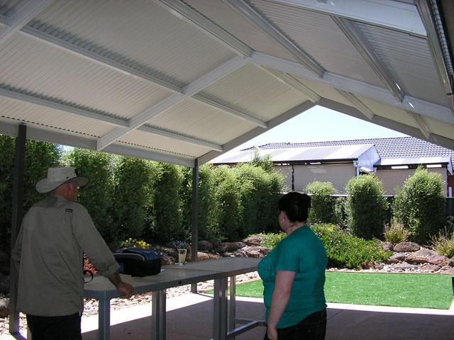Roof Design Ideas: Pergolas Plus Outdoor Living : Colorbond Roofs No Gable