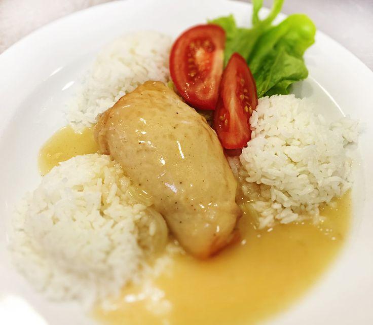 Denné menu Vranov | Plnené kuracie prsia s mäsovou plnkou, dusená ryža - reštaurácia Hotel Patriot*** #hotel #restauracia #dennemenu