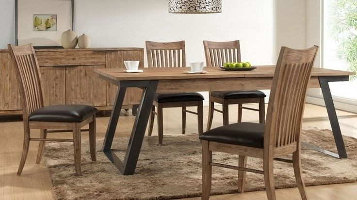 Industrial 7-piece Dining Suite - Lounge Life