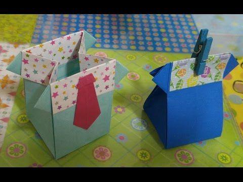 강아지상자접기.오월의장미.origami.종이접기.478 - YouTube