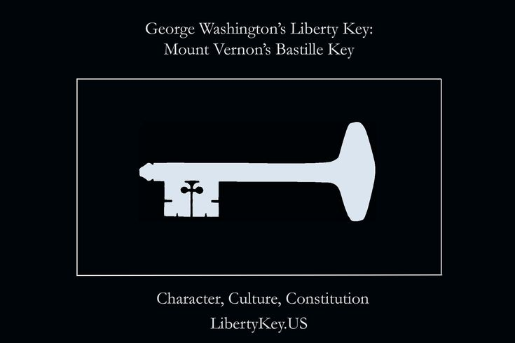 George Washington's Liberty Key: Mount Vernon's Bastille Key – the Mystery and Magic of Its Body, Mind, and Soul (Character, Culture, Consitution)   www.LibertyKey.US