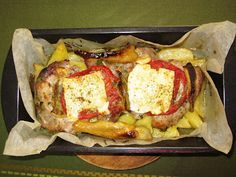 Μπουγιουρντί με κρέας και πατάτες στο φούρνο
