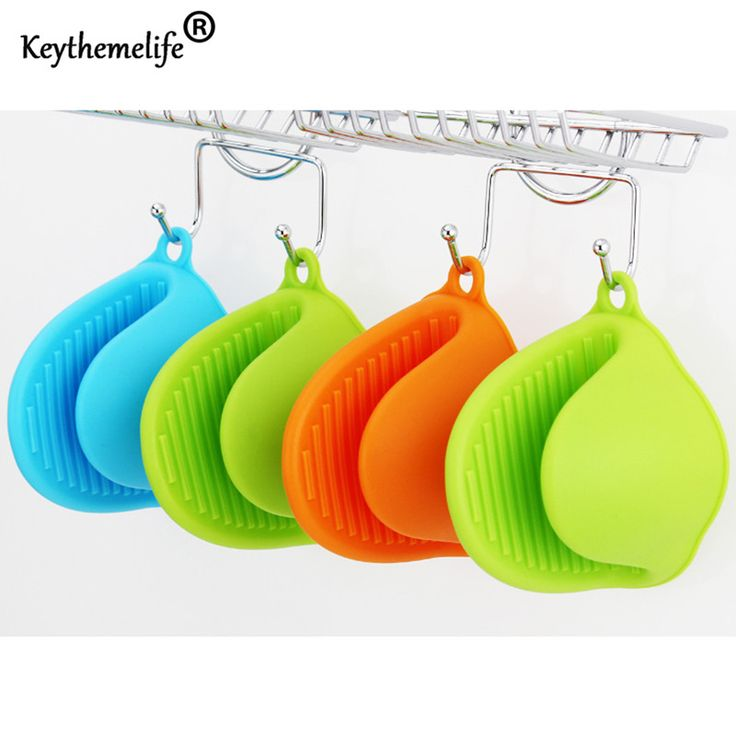 Cute Candy Colors 1PCS Kitchen Cooking Microwave Oven Mitt Insulated Non slip Glove Free Shipping. Click visit to check price #Bakeware
