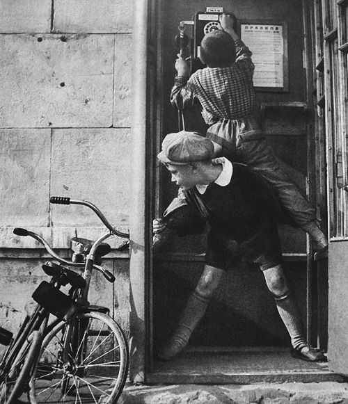 Vintage Black And White Street Photography